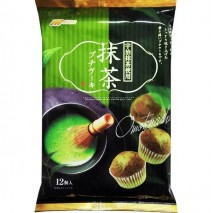 Marukin Uji Matcha Cupcakes - Dolci Giapponesi