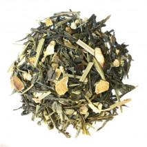Limone Zenzero Biologico, tè verde aromatizzato