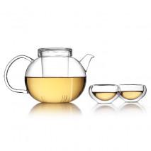 Set vetro teiera e 6 tazze | Set da Tè