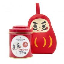 Set Barattolo Daruma e Tè